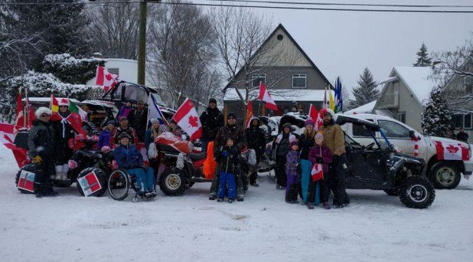 Vernon Winter Carnival Parade
