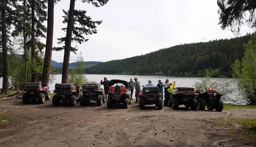 Luck of the Irish Creek Ride with the Vernon ATV Club