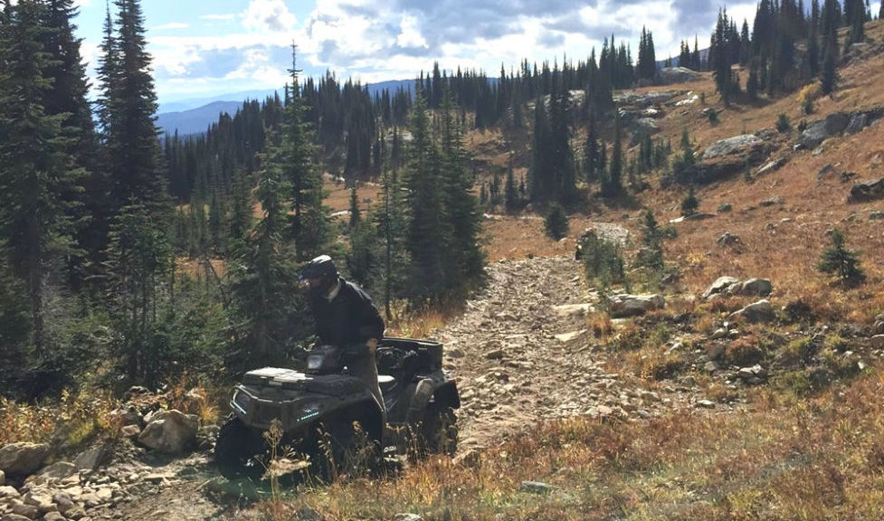 Vernon ATV Club ride to Mara Mtn Forestry Lookout