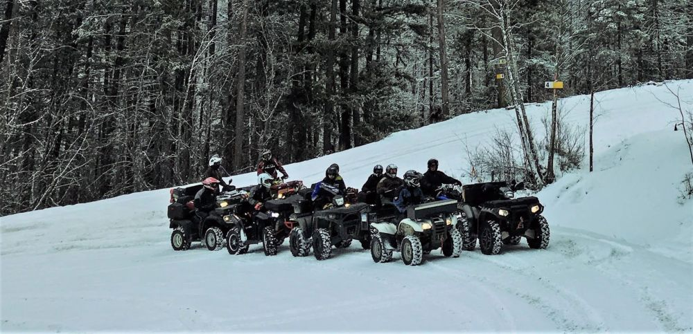 White Sunday ATV Ride at King Eddy
