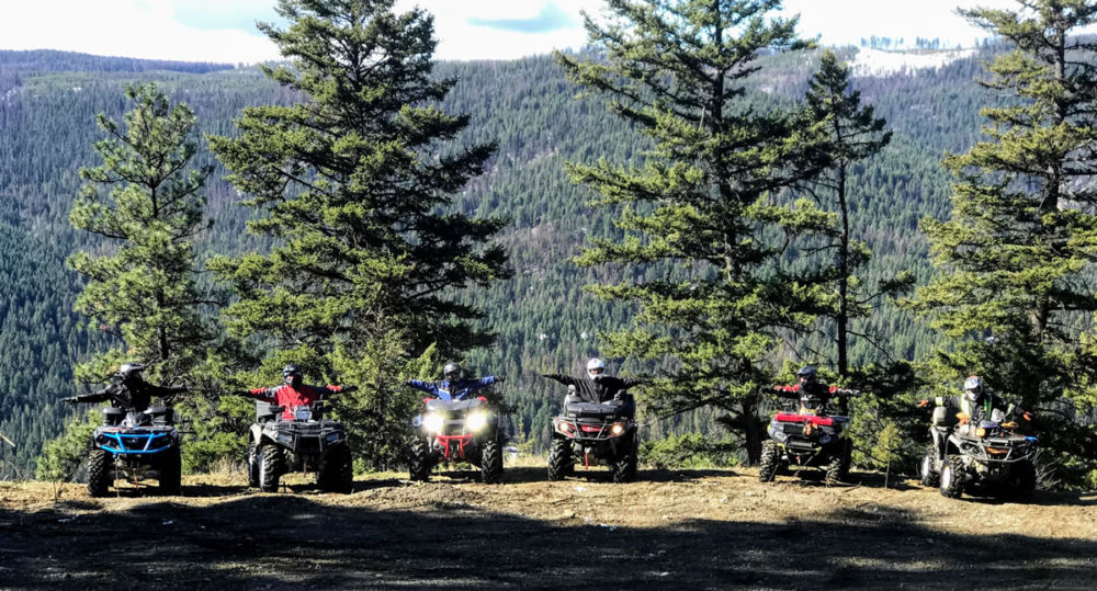 Harris Creek to Kettle FSR Ride